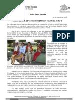 06/03/13 Germán Tenorio Vasconcelos semana de Vacunacion Canina y Felina 2013