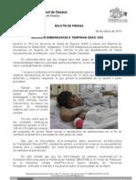 08/03/13 Germán Tenorio Vasconcelos Riesgoso Embarazarse a Temprana Edad, Sso