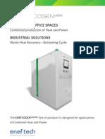 Eneftech - Booklet GREEN