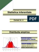 Cursul 4 - Statistica inferentiala