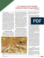 Los Impactos Del Cambio Climatico Sobre La Agricultura