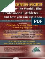 Principle-Centered Marketing Program  [0026a]