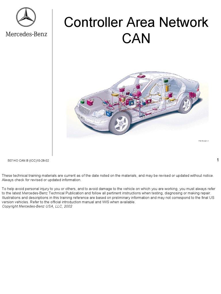 w 220 Benz Can Network | Mercedes Benz | Switch N Mercedes Wiring Diagram on