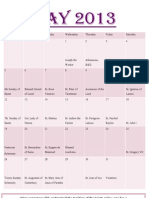 Girls Planner May 2013