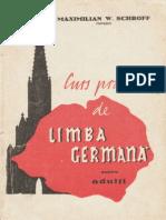 Maximilian W. Schroff - Limba Germana Pentru Adulti