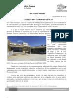 20/03/13 Germán Tenorio Vasconcelos instalan Sso e Imss Octava Red de Salud