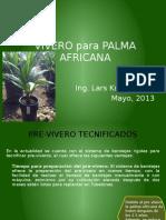 Vivero  Palma Africana 2013