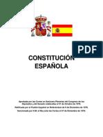Legislacion Espanola - Const