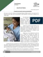 24/03/13 Germán Tenorio Vasconcelos gran Avance de Oaxaca en Salud Materna