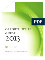 2013 Opportunities Guide