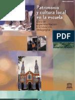 Patrimonio y Escuela