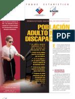 Estudio Nacional de Discapacidad y Adulto Mayor 2006