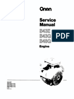 B43E-965-0757 - Onan  Engine Service Manual