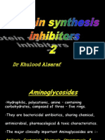 Protein synthesis inhibitors 2.ppt