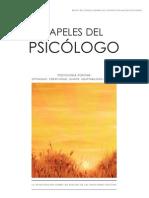 49121915-Psicologia-positiva Papeles Del Psicologo