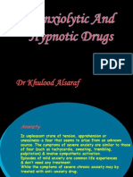 Anxiolytic And Hypnotic   Drugs.ppt
