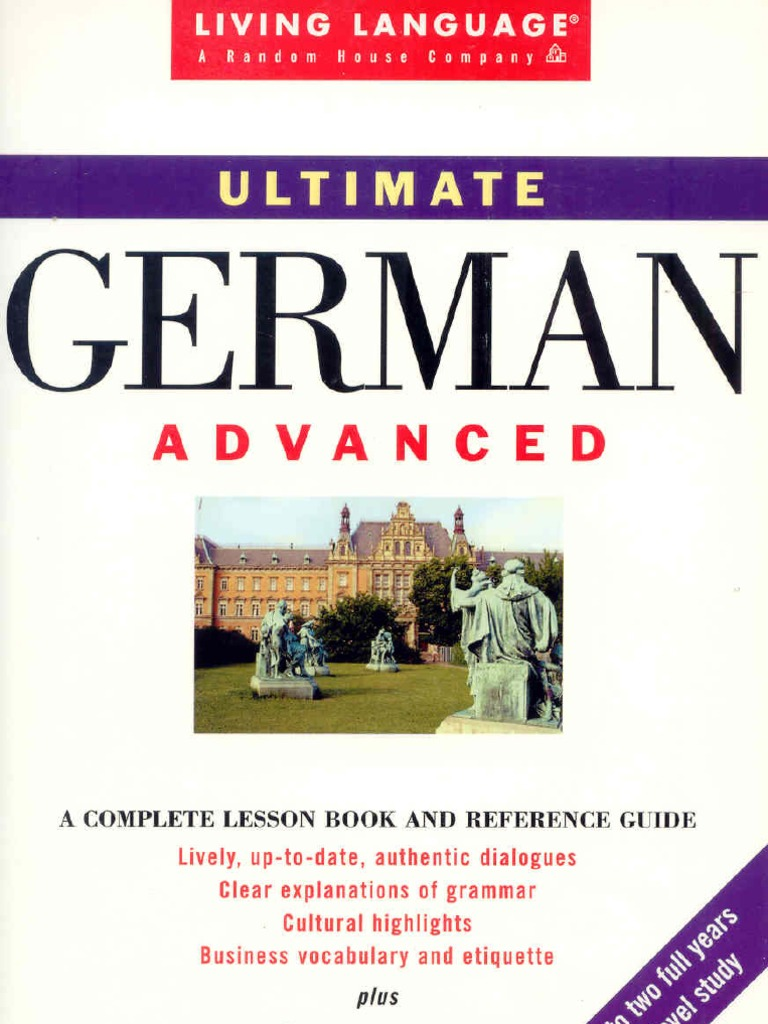 living language ultimate german ii adjective verb - Hai Krperkissen Das Dich Isst