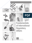 Fundamentals of Internationa Regulatory Affairs, First Edition Comparative Matrix