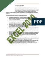 Referencia de Celdas Usando Microsoft Office Excel 2010