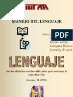 EXPOSICION Lenguaje