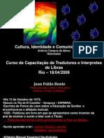 Curso capacitação de interprete de Libras - Rio 01