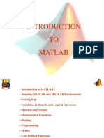 Matlab an Introduction Lecture One