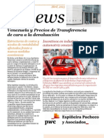 PT News - Abril 2013 - Venezuela y Precios de Transferencia de cara a la devaluación