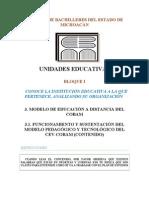 Orientacion Educativa Bloque i Modelo Educativo 31. 3.2. 3.3. 3.4. 3.5 Contenido