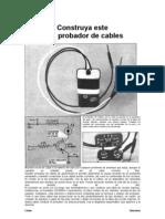 Probador de Cables