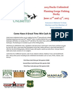 The Gorge Fishing Derby Registration Form