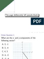 Vectors and Dynamics