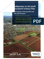 Unitary Plan Addendum Rub