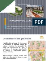 Proyectos de Habilitacion Urbana