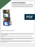 5 Trucos Para Ahorrar Tinta de La Impresora