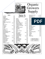 Organic Growers Supply 2013 Catalog Highres