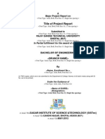 BE Major Project Format Final
