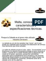 01 Malta, especificaciones técnicas