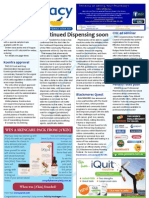 Pharmacy Daily for Wed 01 May 2013 - Continued Dispensing, Kcentra, penalty rates, new products and much more