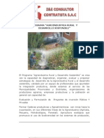 Programa de Agroindustria Rural
