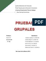 PRUEBAS GRUPALES (1)