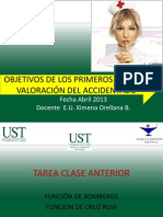2ª Clase OBJETIVOS_DE_LOS_PA_Y_VALORACION_DEL_ACCIDENTADO