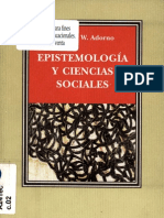 7096166 Theodor Adorno Epistemologia y Ciencias Sociales(1)
