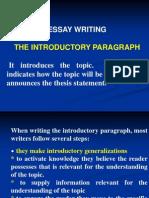 Essay Writing 2010