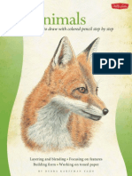 Animals - Learn to Draw With Colored Pencil Step by Step