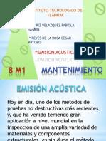 exposiscion emision acustica