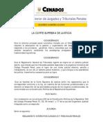 Reglamento Interior de Los Juzgados y Tribunales Penales