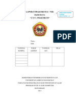 Format Laporan Praktikum Basis Data