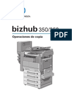 Bizhub 350 250 Manual Usuario