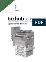 Bizhub 350 250 Manual Usuario