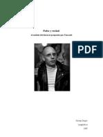 Poder y Verdad, el análisis de discurso propuesto por Foucault
